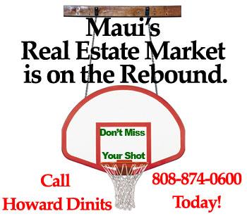 seller's market in Maui real estate rebound
