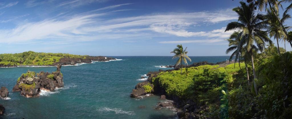 Wai'anapanapa State Park. Maui.
