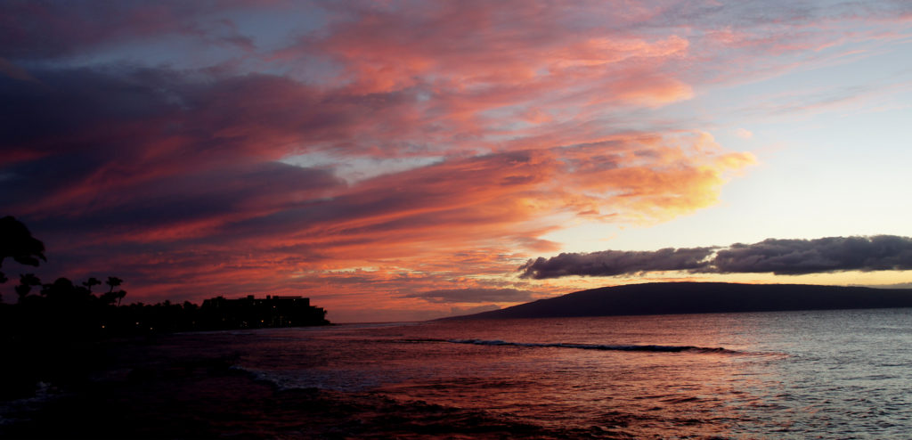 Sunset. Maui. Hawaii.