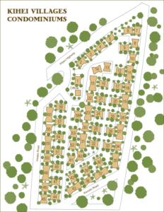 Kihei Villages Condominium Site Map