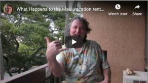 Maui vacation rental bookings