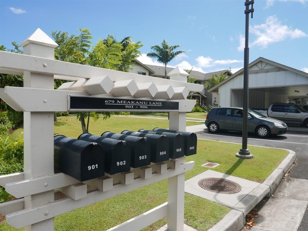 Kehalani Gardens Mail boxes Meakanu Lane